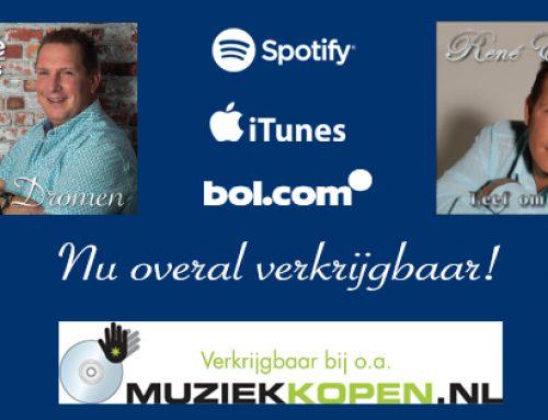CD's Dromen & Leef Om TeLeven nu overal verkrijgbaar!